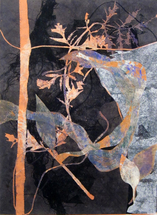 collaged nuanced monotype, bend oregon, nature earth, monotype, abstract, collage, mixed media, nature, michelle lindblom, contemporary, figurative, landscape