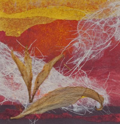 cultivating, monotype, Michelle Lindblom, visual artist, collage, mixed media, printmaking, contemporary, nature