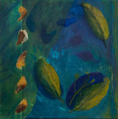 natural current, monotype, Michelle Lindblom, visual artist, collage, mixed media, printmaking, contemporary, nature