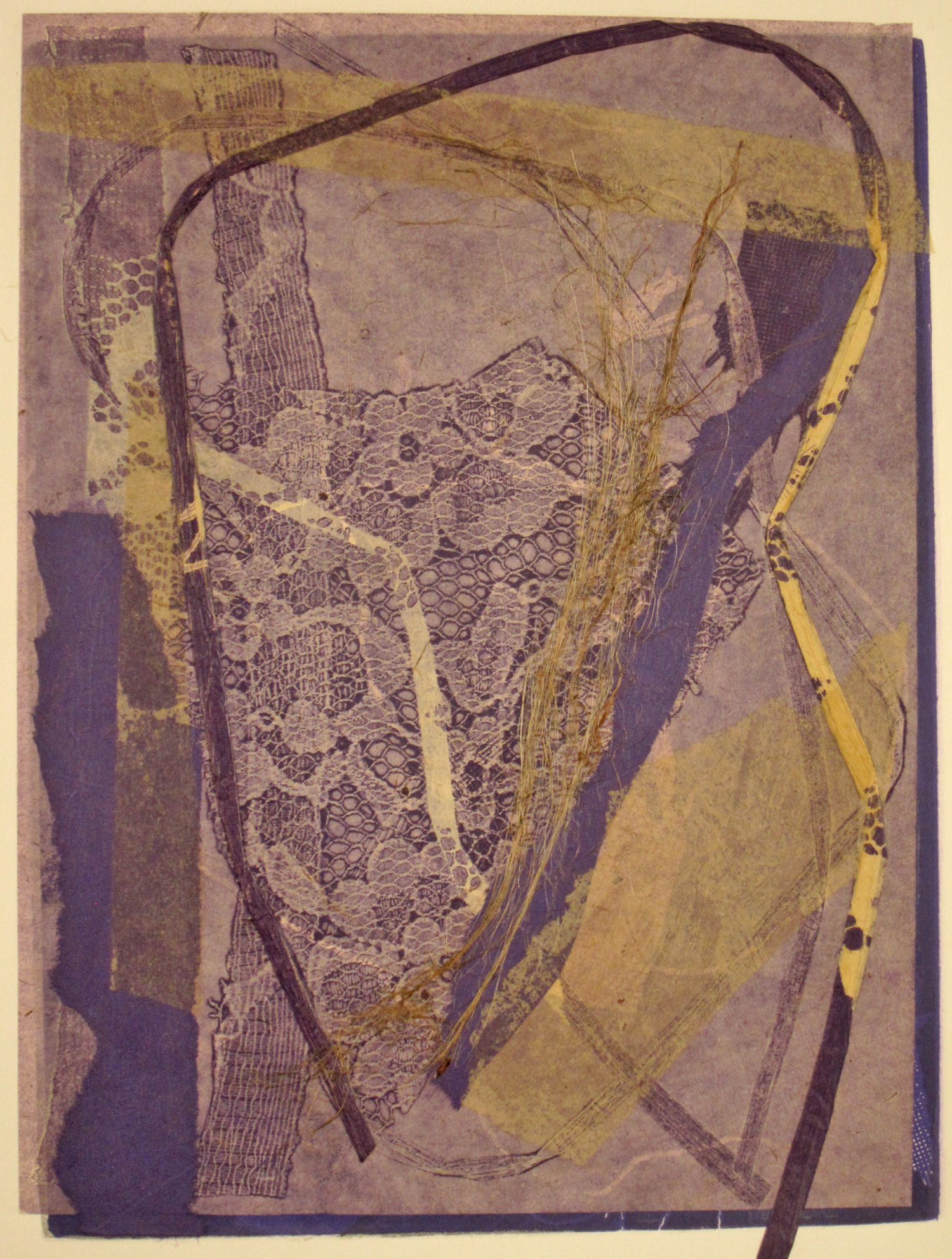 Nuances monotype, michelle lindblom, visual artist, collage, mixed media, printmaking, contemporary, nature