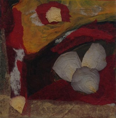 incandescent, monotype, Michelle Lindblom, visual artist, collage, mixed media, printmaking, contemporary, nature