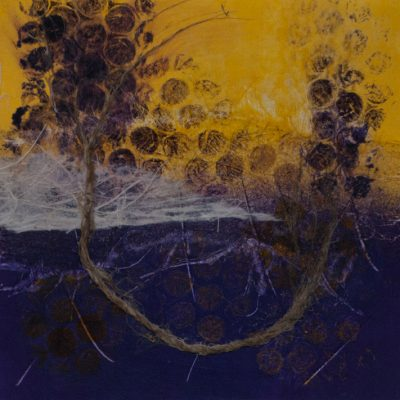 mixed media nature, monotype, Michelle Lindblom, visual artist, collage, mixed media, printmaking, contemporary, nature