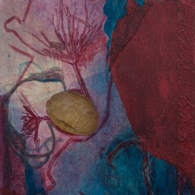 art regeneration, monotype, Michelle Lindblom, visual artist, collage, mixed media, printmaking, contemporary, nature