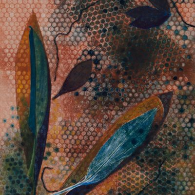 natural imagery, monotype, Michelle Lindblom, visual artist, collage, mixed media, printmaking, contemporary, nature