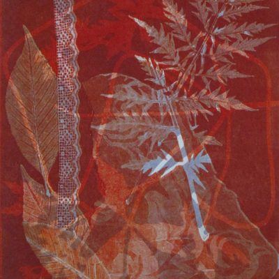 abstract nature, collage, mixed media, Michelle Lindblom, contemporary, nature