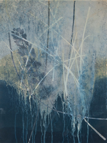 Original, monotype, nature, landscape