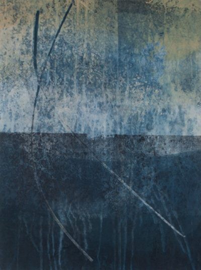 horizon, awakenings, abstract nature, collage, mixed media, Michelle Lindblom, contemporary, nature