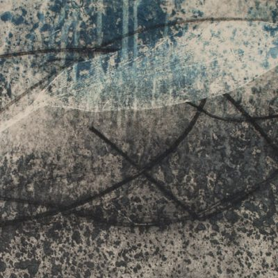 rising from ashes, awakenings, printmaking, abstract nature, mixed media, Michelle Lindblom, contemporary, nature