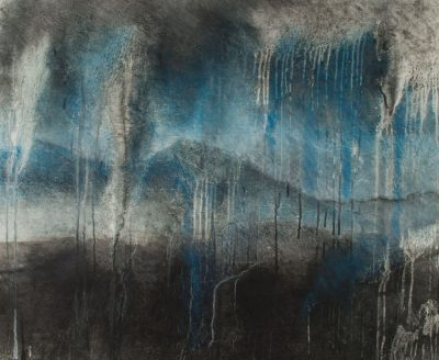 shedding tears, nature images, monotype, Michelle Lindblom, visual artist, mixed media, printmaking, contemporary, nature