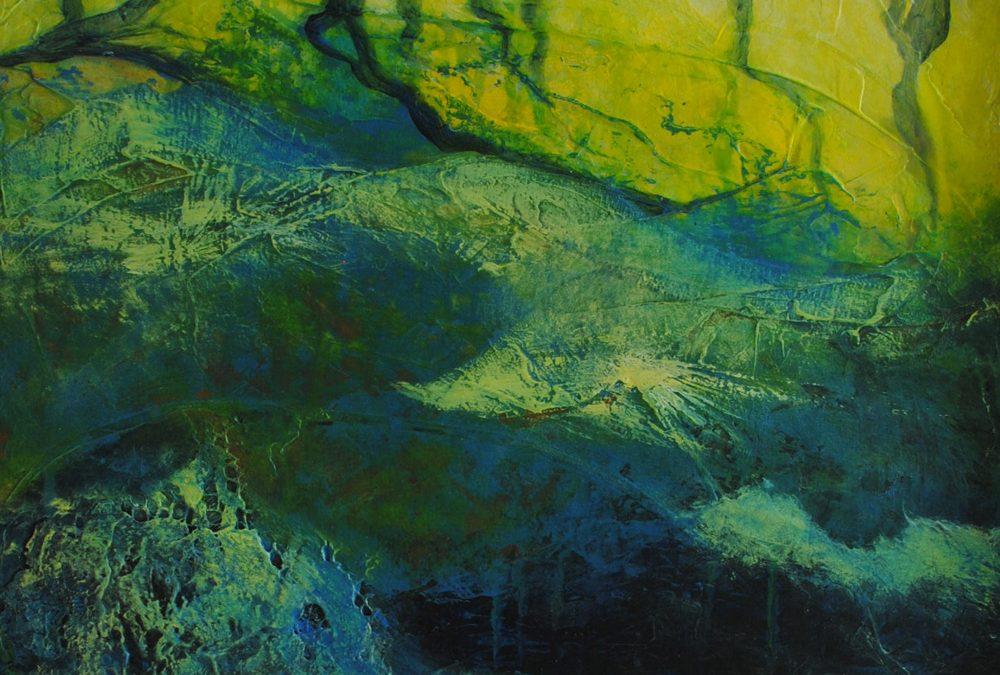 blog, landscape, revelations, acrylic, painting, canvas, mixed media, michelle lindblom, bend oregon, spiritual