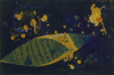 nuanced migration, monotype, printmaking, original, nature, michelle lindblom, bend oregon