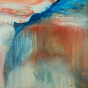 abstract art on canvas, shadows beneath, acrylic, canvas, original, michelle lindblom, bend oregon, spiritual
