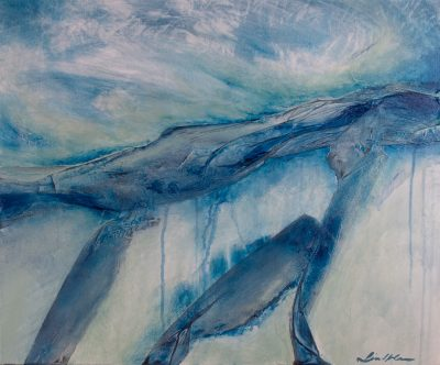 abstract landscape, acrylic, canvas, original, michelle lindblom, bend oregon, spiritual