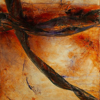 abstract mixed media acrylic, dance with earth, canvas, original, michelle lindblom, bend oregon, spiritual