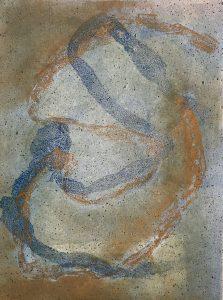 snake series, monotype, printmaking, original, nature, michelle lindblom, bend oregon, spiritual