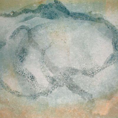 nuanced healing, monotype, printmaking, original, nature, michelle lindblom, bend oregon, spiritual